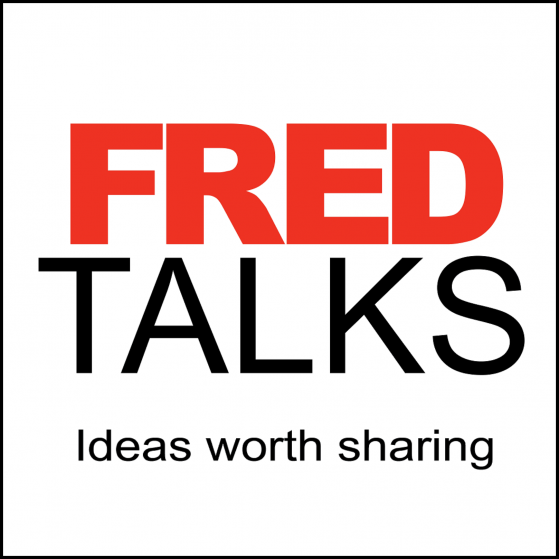 FREDTalks Podcast Logo